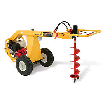 Auger Towable Hydraulic Lawn And Garden Tool And Vehicle