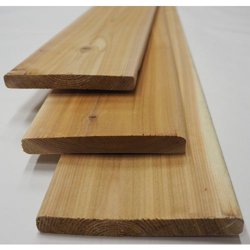 1x6x5' STK Cedar S4S  Fence
