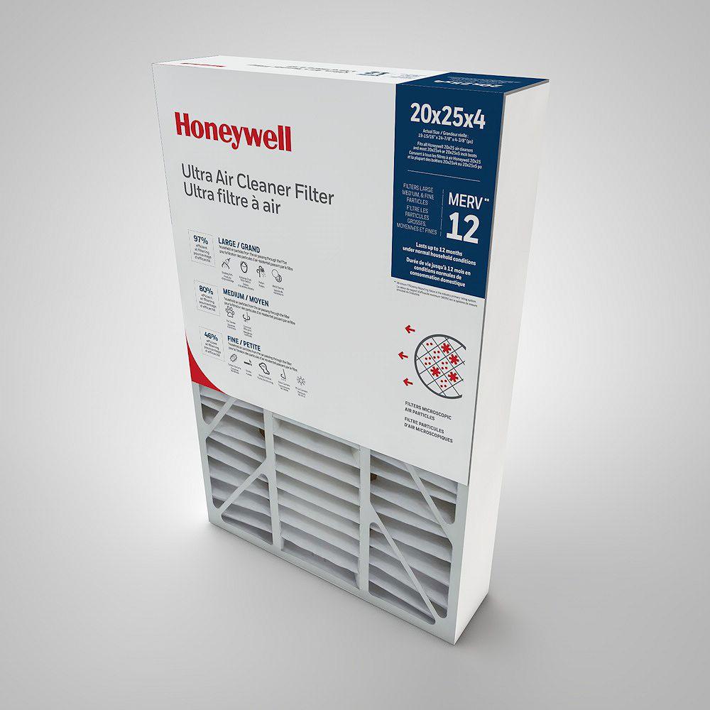 Honeywell Air Cleaner Filter 20x25x4