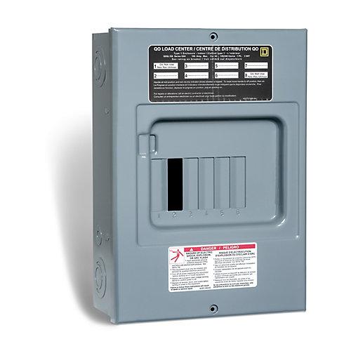 100 Amp  Sub Panel Loadcentre with 6 spaces, 12 Circuits Maximum