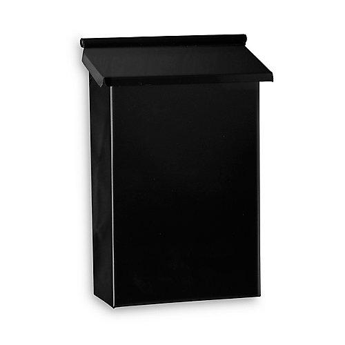 Boîtes aux lettres verticales - Noir