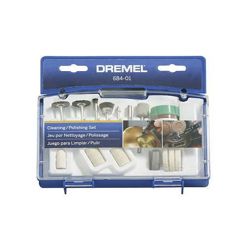 20-Piece Cleaning and Polishing Set