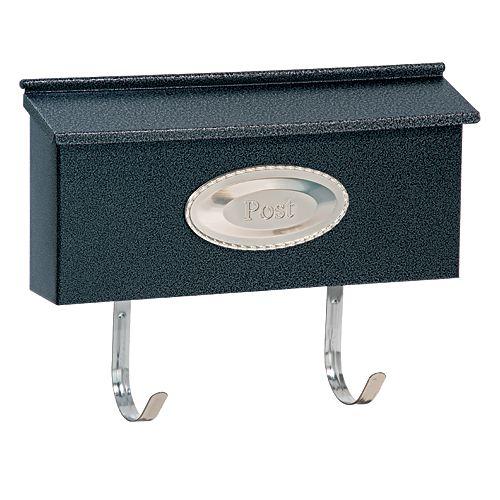 Black Granite Ranch Mailbox