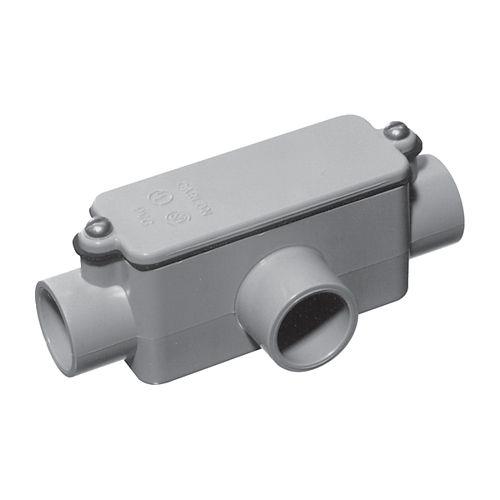 Raccord de Dérivation En PVC Schedule 40 Type T  1 Pouce