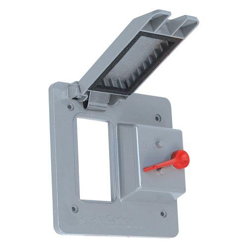 Couvercle Extérieur Étanche En PVC Pour Une Prise DDFT Et Un Interrupteur À  Bascule