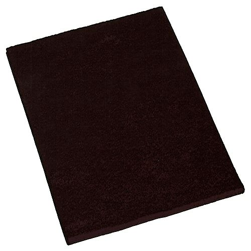 4-1/4-Inch x 6-Inch Self-Adhesive Felt Furniture Pads, 2-Pack, Brown