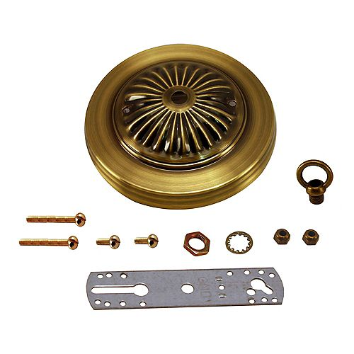 Atron Antique Brass Deluxe Canopy Kit
