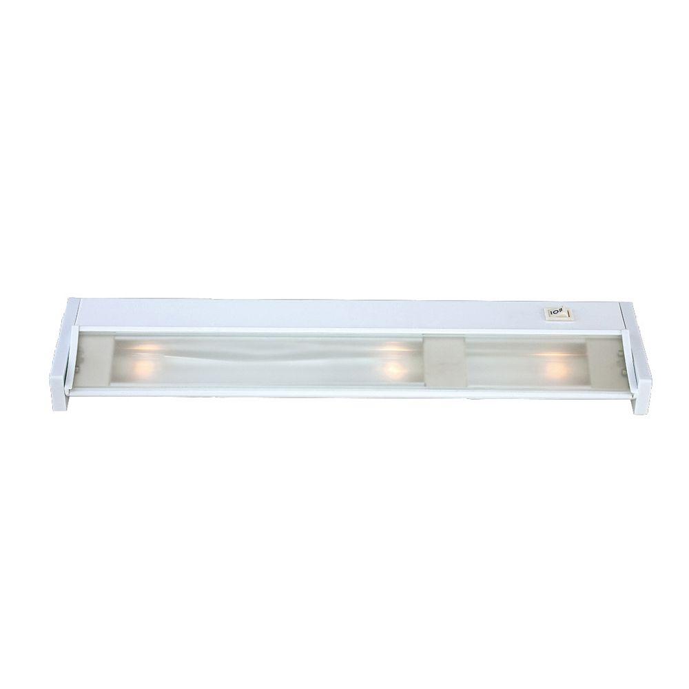 Eurofase Éclairage des sous-armoires, 3 ampoules halogène