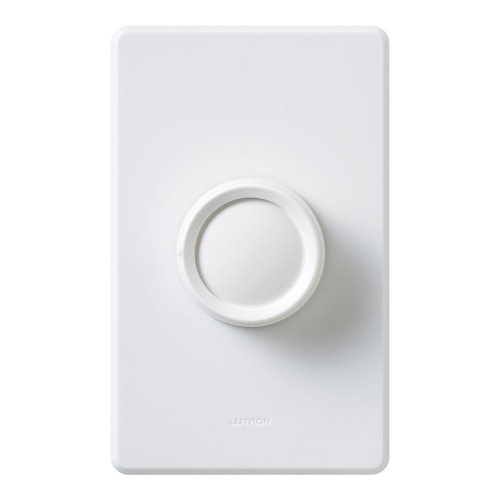 Lutron Bouton de rechange pour régulateur rotatif - Blanc