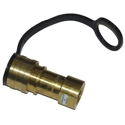 3/8-inch Quick Connection Female For Natural Gas