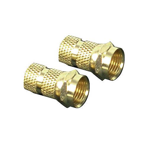 """Connecteurs """"F"""" Vissables Rg59 - 2 Pc"""