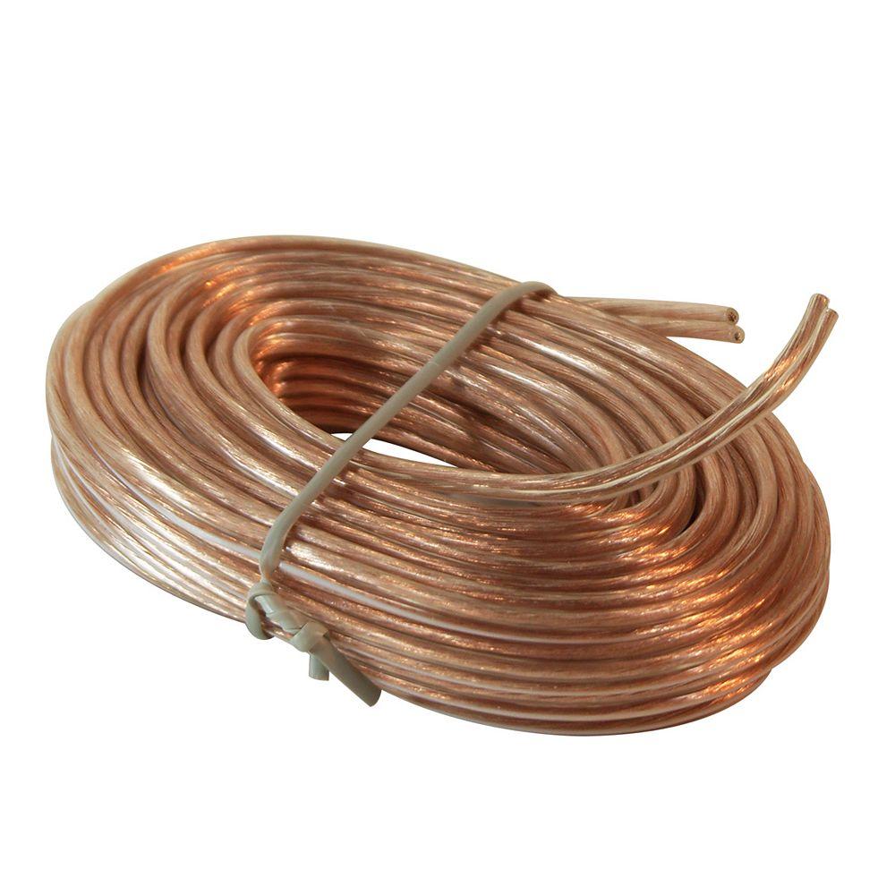 RCA 30.5m 18 Gauge Speaker Wire