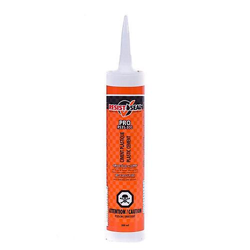 Ciment plastique Pro RS35-300 pour surfaces sèches ou humides, 300 ml
