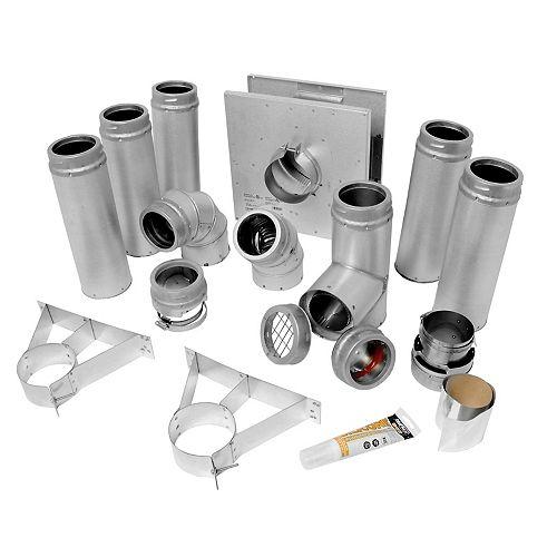 3-inch Pellet Pipe Kit