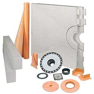 Composants d'ensembles de douche et scellants
