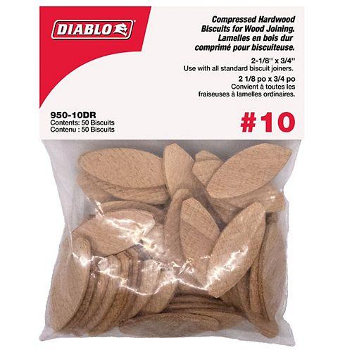 Lamelles Taille 10 - 50 par enveloppe