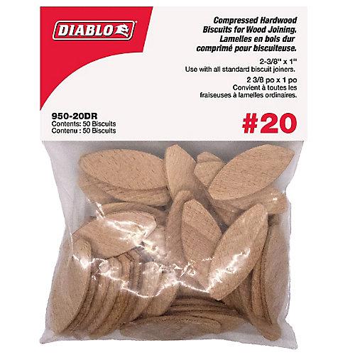 Lamelles Taille 20 - 50 par enveloppe