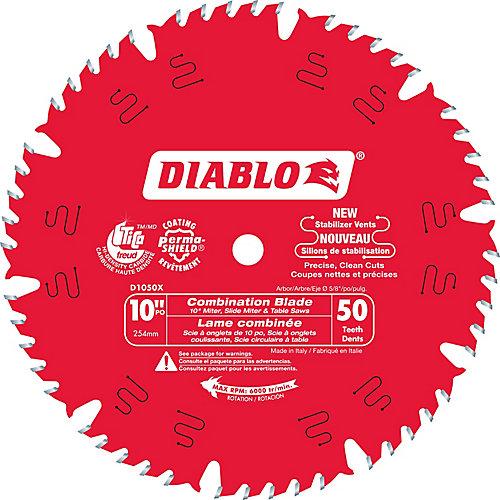 10 In. Combo Blade - 50 Teeth