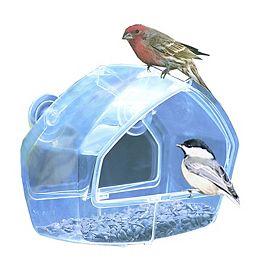 Mangeoire à fenêtre transparente Perky-Pet
