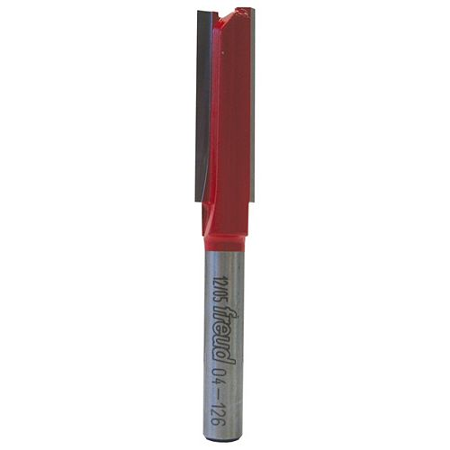 3/8-inch x 1 1/2-inch Double Flute Straight Bit