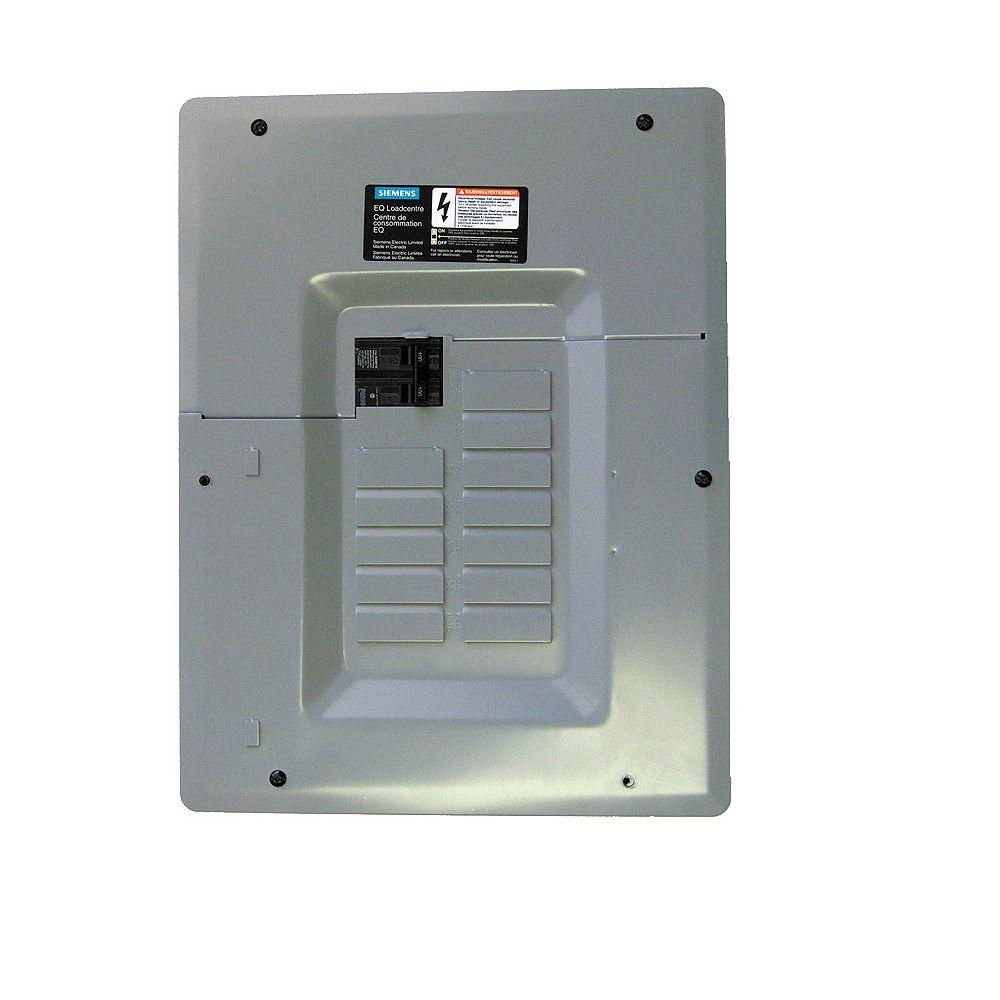 Siemens 12/24 Circuit 100A 120/240V Siemens Paquet panneau avec disjoncteur principal
