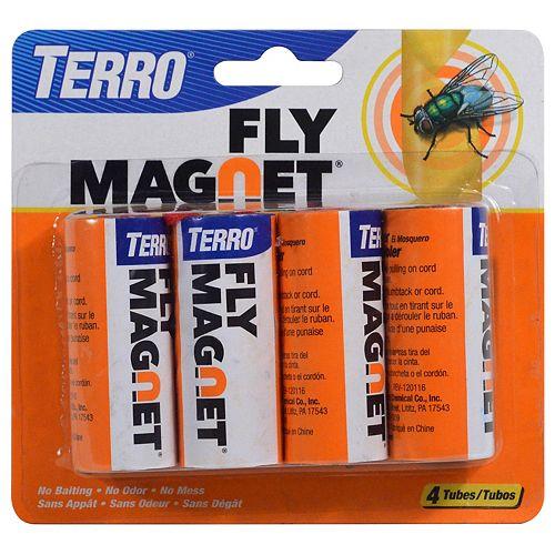 Papier attrape-mouches TERRO - 4 rouleaux
