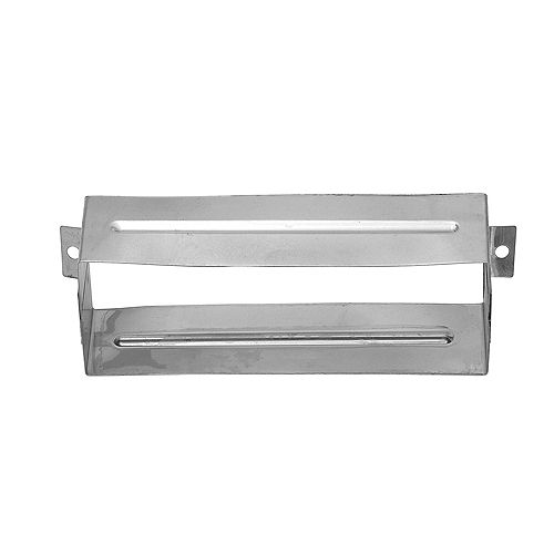 Taymor 2 3/16-inch H x 7 7/16-inches W Steel Mail Slot Sleeve