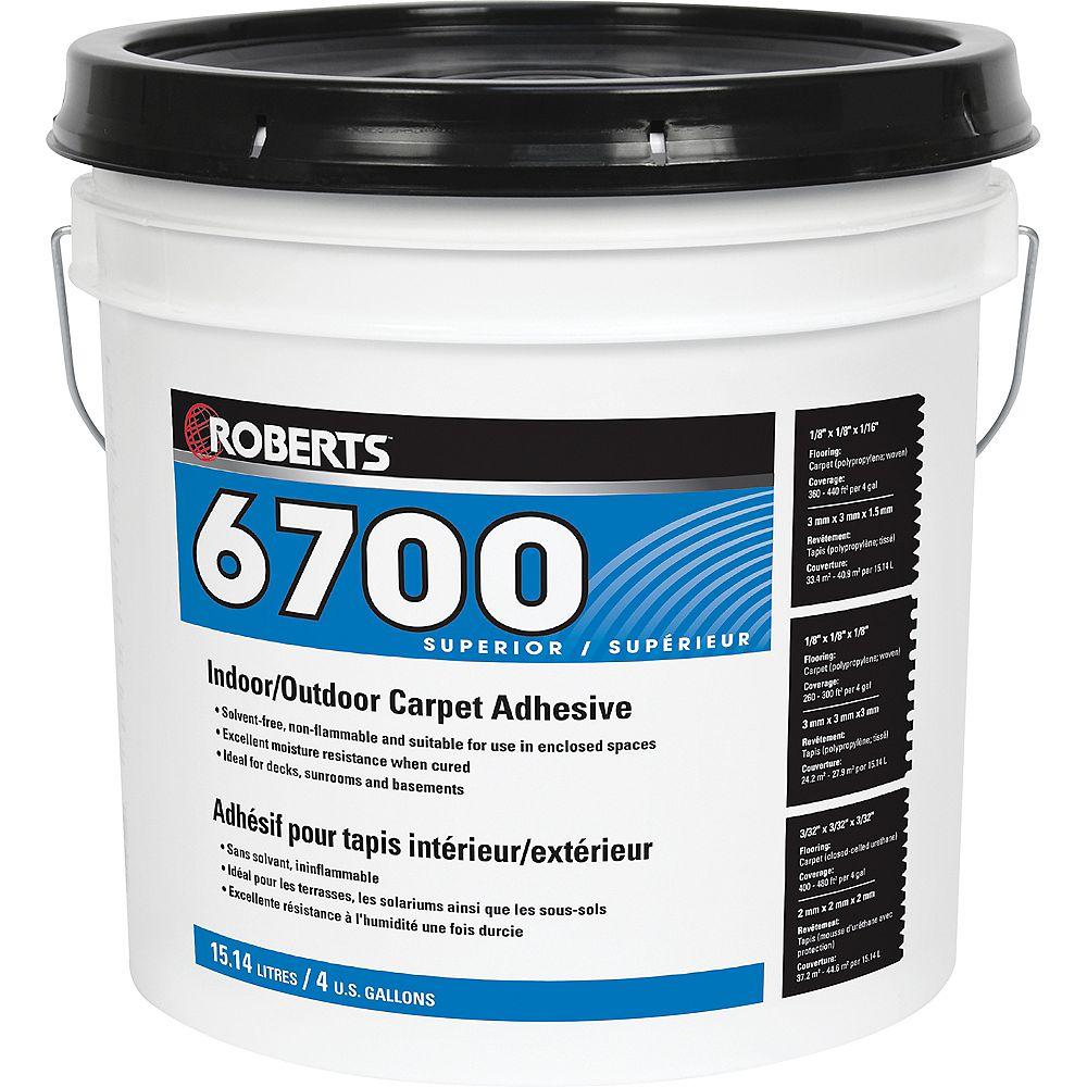 Roberts 6700, 15L Adhésif et colle pour tapis intérieur/extérieur, 15L
