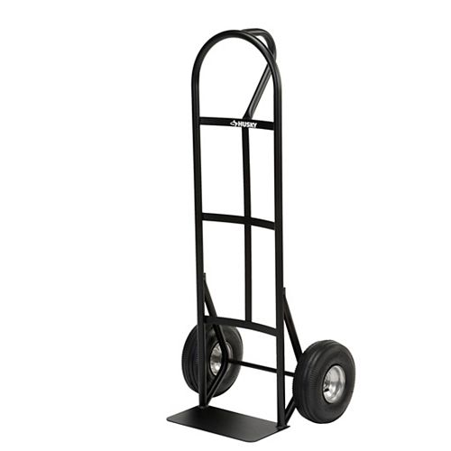 "Steel Hand Truck, 600 Lb. Capacity, ""P"" Loop Handle"
