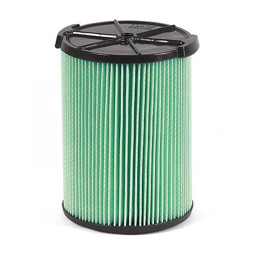 Filtre en matériau HEPA pour les aspirateurs sec/humide 18,9 l (5 gal.) et plus