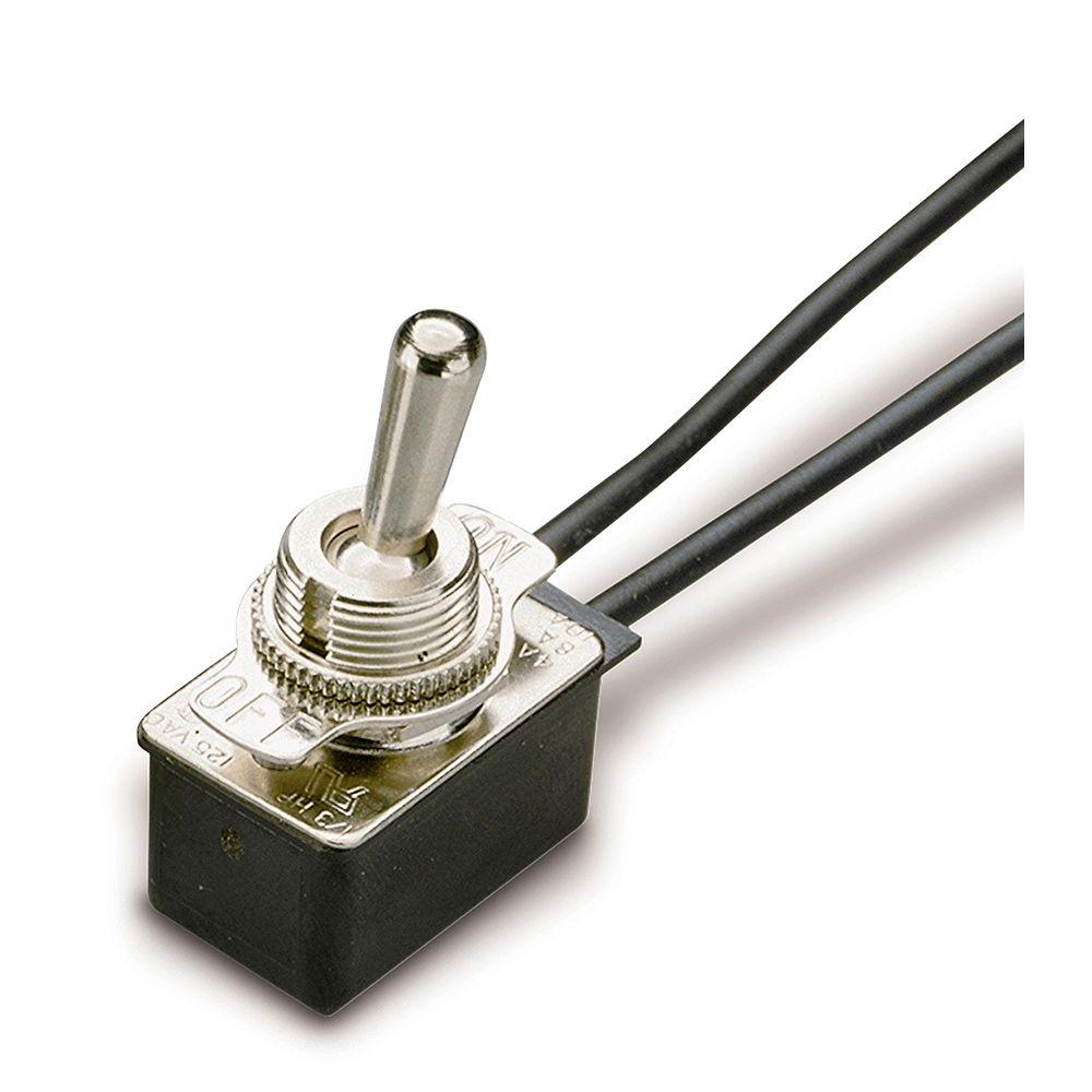 Gardner Bender Toggle SPST 10A 120/125V O/F Leads; 1/Cd