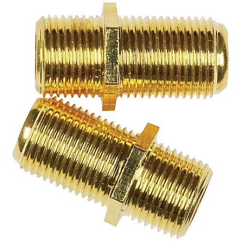 Coax Cable Inline Connector (2-Piece)