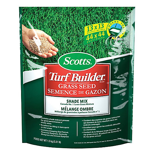 Scotts Turf Builder Grass Seed Shade Mix - 1.5 kg