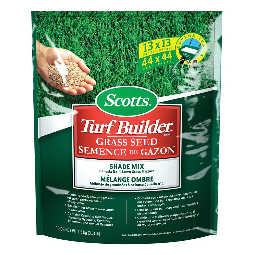 Scotts Scotts Turf Builder Grass Seed Shade Mix - 1.5 kg