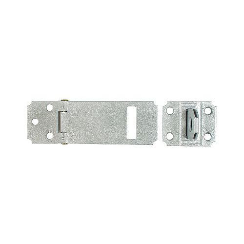 3-1/2 In. Zinc Plated (2c) Adjustable Staple Safety Hasp