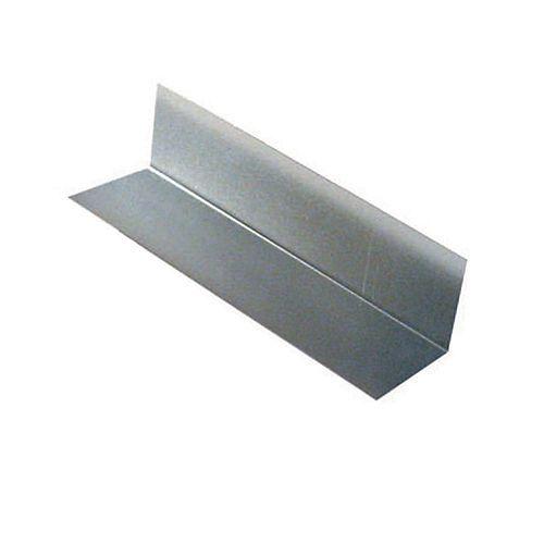 Peak Products Flashing Step, 3 x 4 x 13 In. - Galvanized