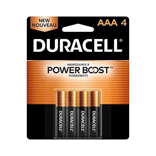Coppertop AAA Alkaline Batteries 4 count