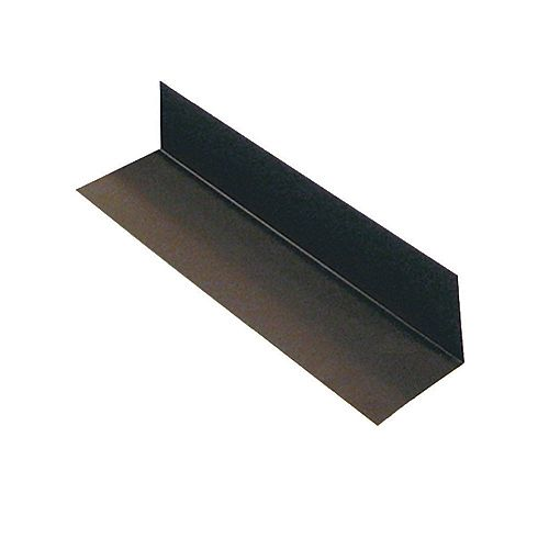 Peak Products Flashing Step 3 x 4 x 13 In. Brown