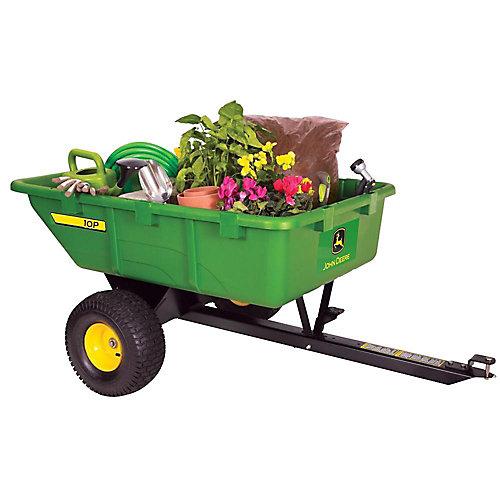 Chariot pour tracteur de jardin 10 pi. cube