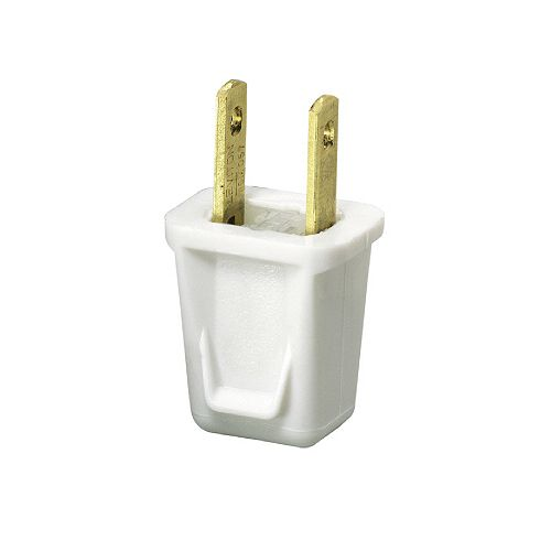 Easy To Wire Plug - White (2-Pack)