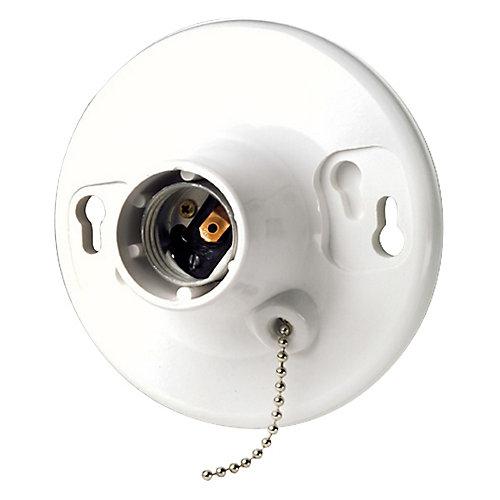 Ceiling Lamp Holder, White