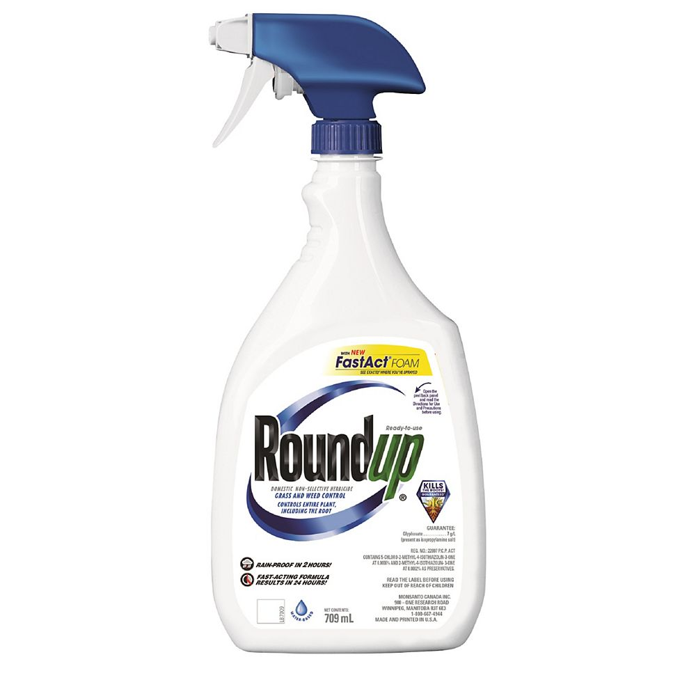 Roundup Grass and Weed Control 709ml Ready to Use