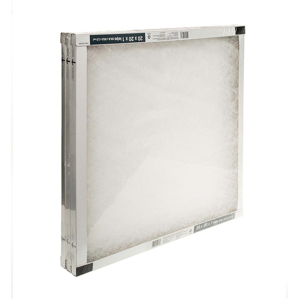 HDG Fiberglass 20X20X1 (3-Pack)
