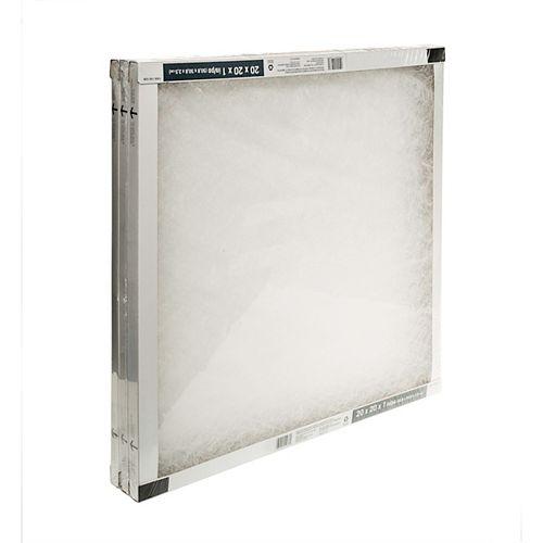 Fiberglass 20X20X1 (3-Pack)