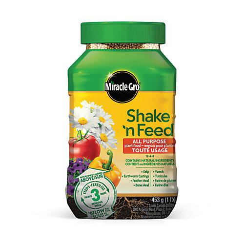 Shake N Feed All Purpose Plant Food 12-4-8 453G