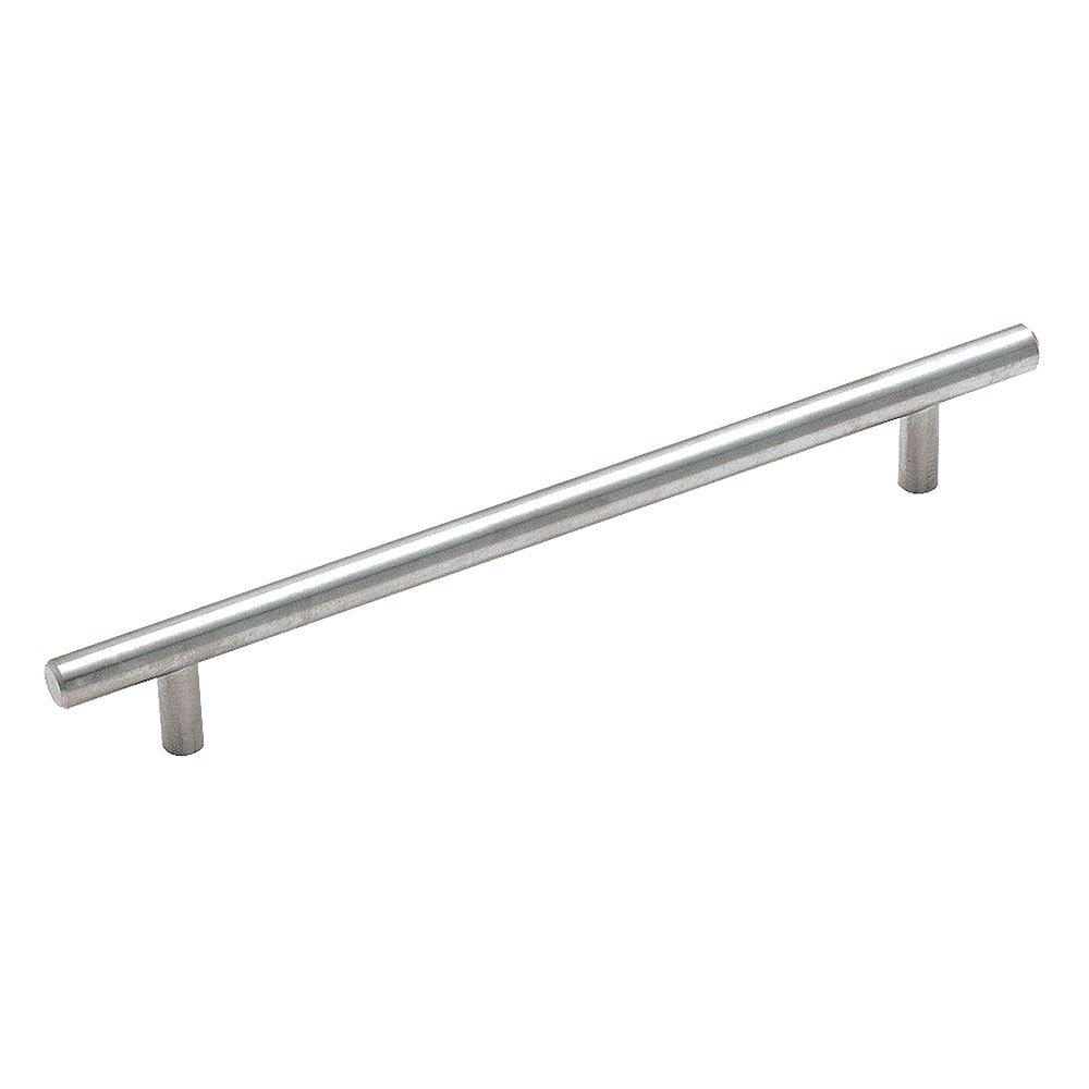 Amerock Poignée centres à 7-9/16 po (192mm)  Bar Pulls - Acier inoxydable