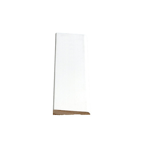 Primed Finger Jointed Pine Bevel Casing 3/8 In. x 2-1/8 In. x 7 Ft.