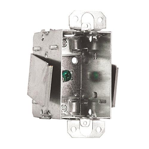 Boîte Rénovation pour appareil simple 2- 1/2  po. prof., Groupable, NMD ou BX