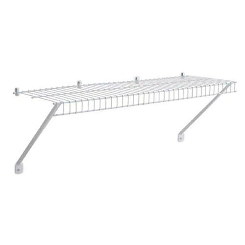 12-inch x 3 ft. Linen Shelf with Installation Hardware
