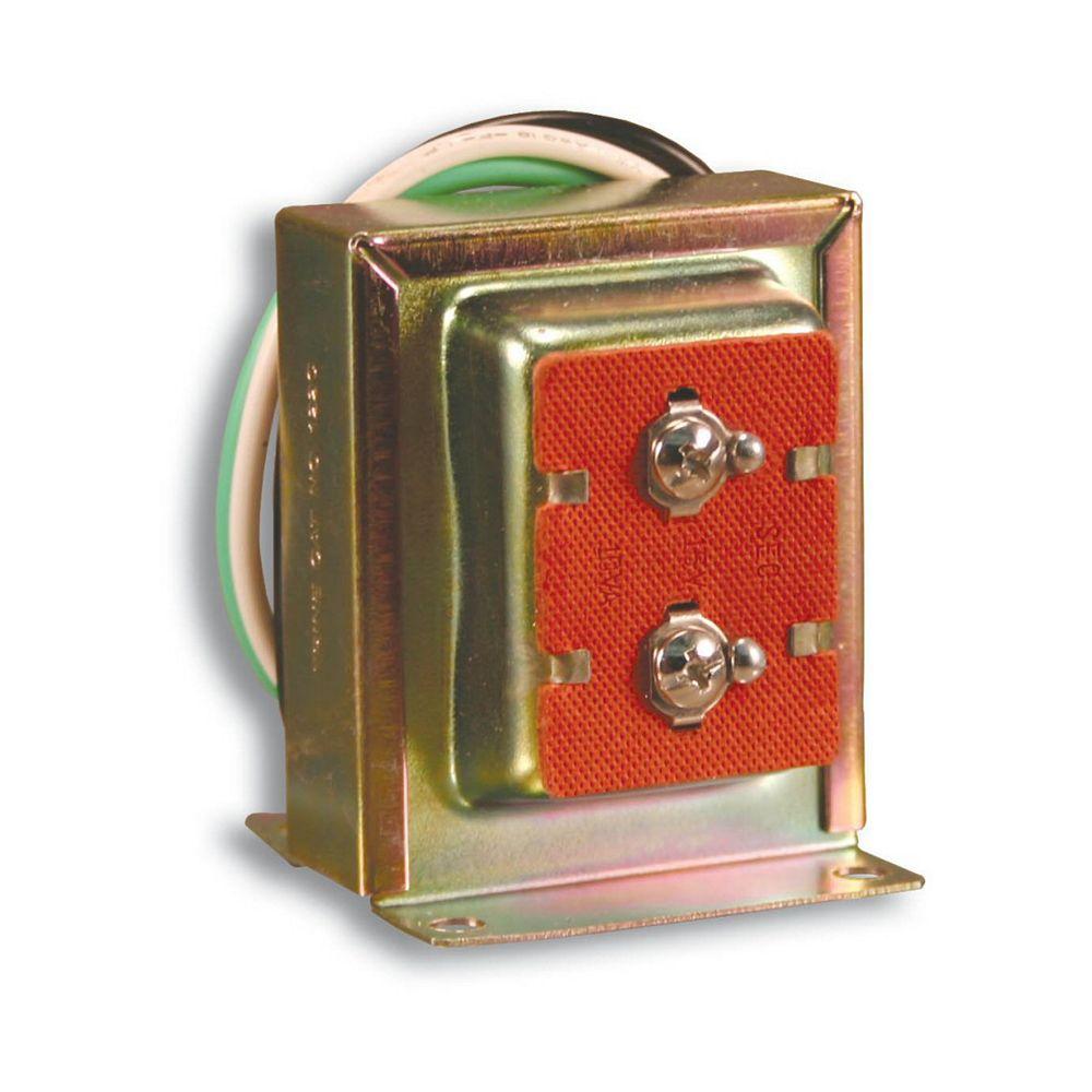 Heath Zenith Lock Nut Type Wired Door Chime Transformer